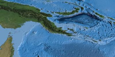 Papua Nova Gvineya Karta Karta Na Papua Nova Gvineya Melaneziya I